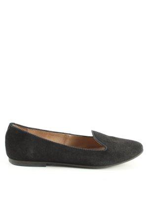 KMB Pantoffels zwart zakelijke stijl