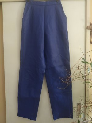 Leather Trousers blue