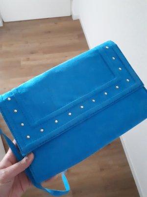 Knallblaue Tasche/Clutch