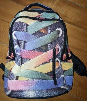 Mochila escolar multicolor