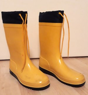 Romika Wellies yellow-dark blue