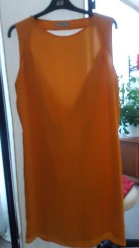 knallgelbes Kleid