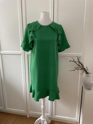 Knallig grünes Kleid