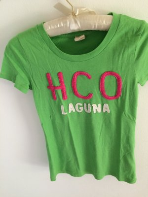 knalliges gemütliches Hollister T-shirt