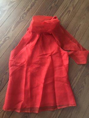 Zara Woman Halter Top red