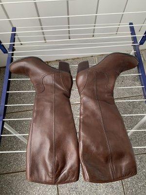 Andrea Manueli Heel Boots brown