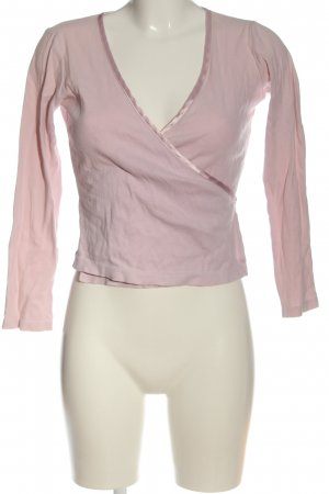 Knickerbox Wraparound Shirt pink casual look