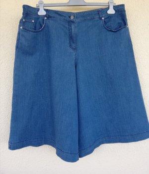 DW-Shop Spódnico-spodnie szary niebieski-niebieski