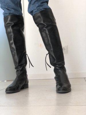 Pino Convertini Buty nad kolano czarny