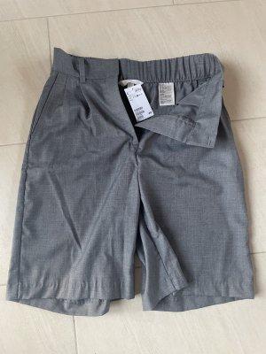 knielange City-Shorts grau neu