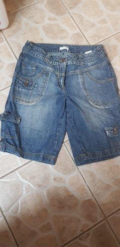 Cheer Denim Shorts steel blue