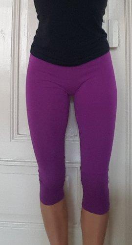 Knielange Leggins in Violett