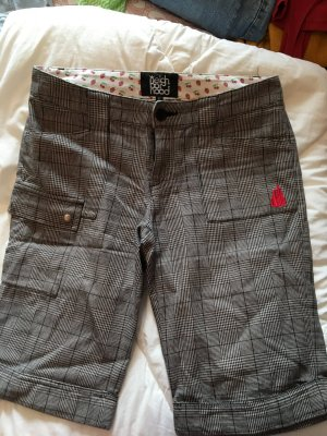 Knielange shorts karomuster von neighborhood