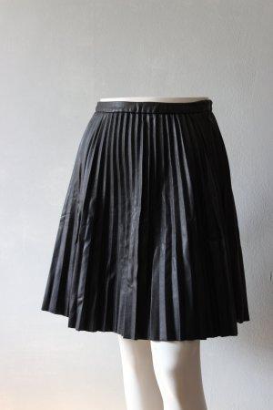 Pimkie Skórzana spódnica czarny