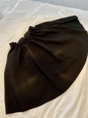 Zara Basic Spódnica z koła czarny