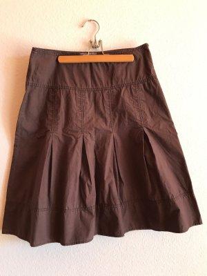 Plaid Skirt brown