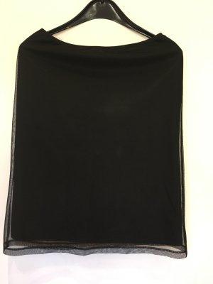 Amisu Tiulowa spódnica czarny