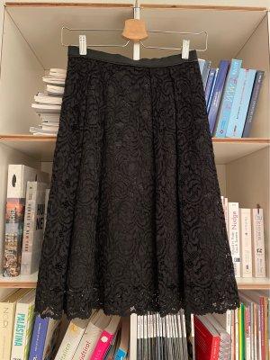 Hallhuber Lace Skirt black