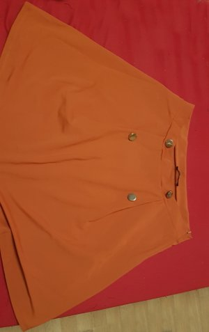 Even & Odd Circle Skirt dark orange