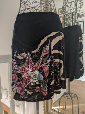 Desigual Plaid Skirt multicolored