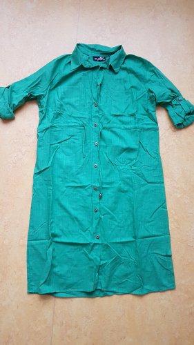 Vestido tipo blusón verde