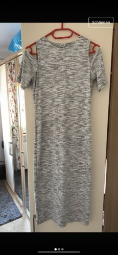 Pimkie Robe t-shirt gris clair-blanc