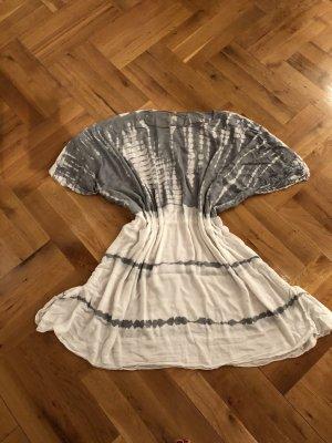 Beach Dress white-silver-colored