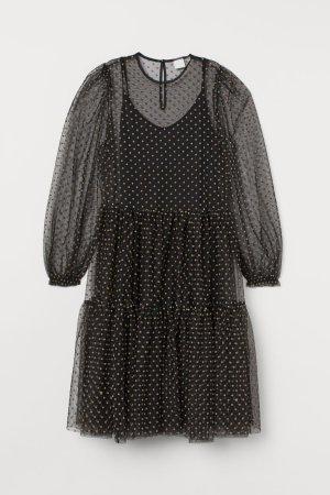 H&M Maxi abito nero