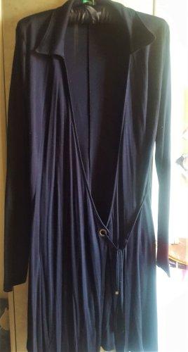 United Colors of Benetton Robe portefeuille noir tissu mixte