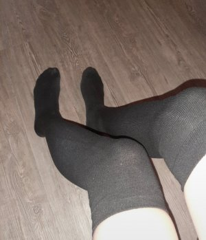 Pantoufles-chaussette noir