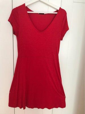Knieumspielendes Rotes Kleid Gr. 36/38