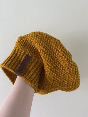 Knit Factory Mütze Senfgelb