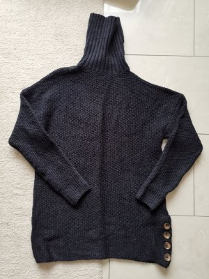 Only Coarse Knitted Sweater black-brown