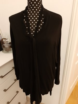 Long Blouse black cotton