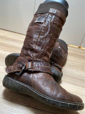 Knitteroptik bequeme, coole Boots