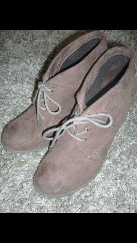 Bata Bottines gris brun