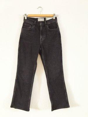 Everlane Jeans a 7/8 antracite-nero Cotone