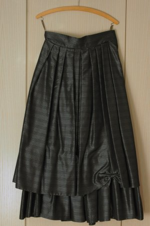Vintage Broomstick Skirt black-anthracite acetate