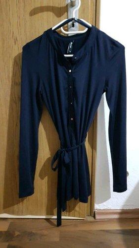 Takko Fashion Camicia lunga blu scuro