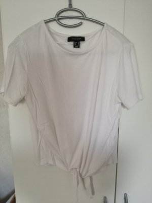 Atmosphere Cropped Shirt white