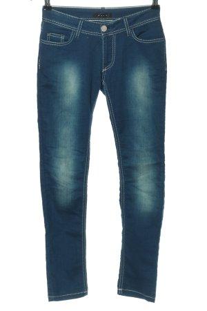 Koan Jeansy ze stretchu niebieski W stylu casual