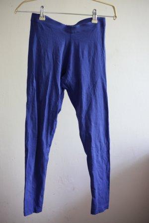 Kobaltblaue Leggings