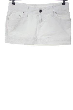 Kocca Denim Skirt white casual look
