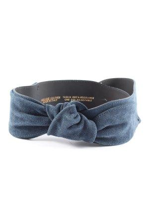 Kocca Ledergürtel blau Business-Look
