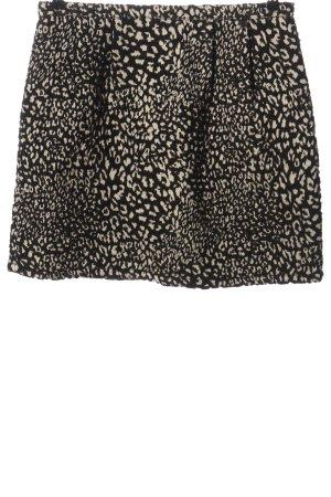 Kocca Miniskirt black-white allover print casual look
