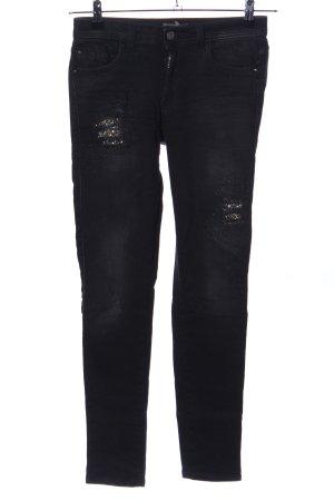 Kocca Jeans skinny nero stile casual