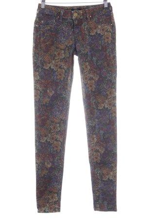 Kocca Skinny Jeans florales Muster Casual-Look