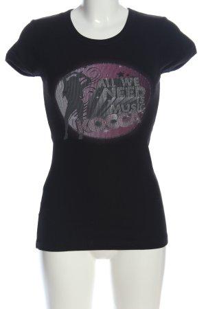 Kocca T-Shirt Motivdruck Casual-Look