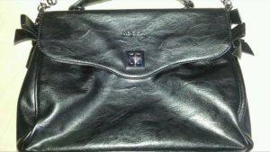 Kocca Tasche in schwarz mit abnehmbarem Gurt, inkl Staubbeutel, Neuwertig