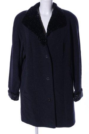 Köhle Abrigo de lana azul look casual